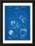 Boxing Glove Patent 1898 Prints