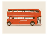 English Bus - S6 - Main Prints by Florent Bodart