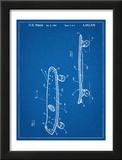 Skateboard Patent 1980 Art