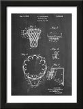 Basketball Goal Patent 1936 Art