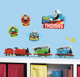 Thomas and Friends Racing Peel and Stick Wall Decals Wall Decal