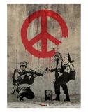 Banksy - Barış - Art Print