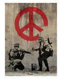 Peace Poster by  Banksy