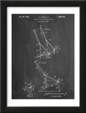 Folding Beach Chair Patent Posters