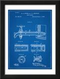 Vintage Beer Tap Patent Posters