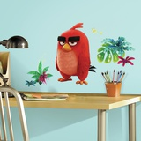 Angry Birds the Movie Red Peel and Stick Giant Wall Decals Wall Decal