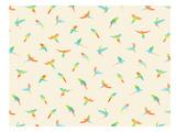 Papagei Plakater af Florent Bodart