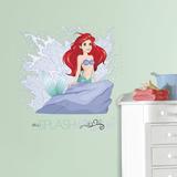Disney Princess Ariel Splash Peel and Stick Giant Wall Graphic Vinilo decorativo