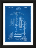 Vintage Beach Umbrella Patent1937 Art
