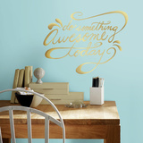 Do Something Awesome Quote Peel and Stick Wall Decals Wall Decal