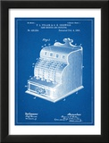 Cash Register Patent Prints