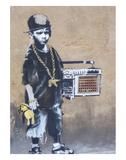 Ghetto Boy Poster af  Banksy