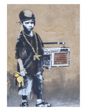 Ghetto Boy Poster by  Banksy