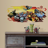 Skylanders Superchargers Peel and Stick Giant Wall Graphic Wall Decal