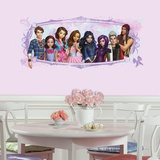 Descendants Animated Peel and Stick Giant Wall Graphic Wall Decal