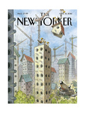 The New Yorker Cover - April 18, 2016 Regular Giclee Print by Peter de S�ve