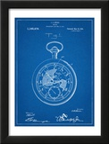 Pocket Watch Patent Posters