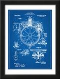 Compass Patent 1918 Print
