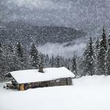 Bavarian Winter'S Tale II Giclée-trykk av Melanie Viola