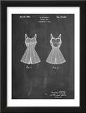Vintage Bathing Suit Patent 1940 Prints