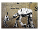 I am your father Print by  Banksy