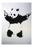 Pandamonium Giclee Print by  Banksy