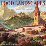 Food Landscapes - 2017 Calendar Kalendarze