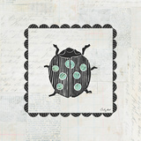 Ladybug Stamp Posters by Courtney Prahl