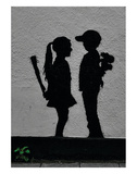 War Children Print by  Banksy