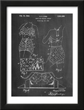 Vintage Bathing Suit Patent 1940 Posters