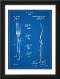Dinner Fork Patent Poster
