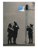 Tesco Flag Posters by  Banksy