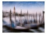 City Art Venice Gondolas & Grand Canal Posters by Melanie Viola