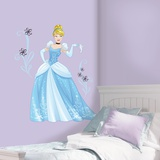 Disney Sparkling Cinderella Peel and Stick Giant Wall Decals Wall Decal