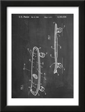 Skateboard Patent 1980 Posters