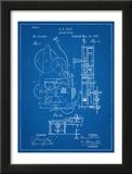 Vintage Alarm Clock Patent 1885 Prints
