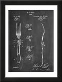 Dinner Fork Patent Prints
