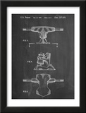 Skateboard Trucks Patent Poster