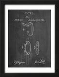 Caribiner Ring Patent Print