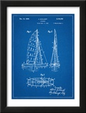 Sailboat Patent Poster