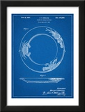 Dinner Plate Patent Posters