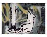 Pooh bear-trap Posters by  Banksy