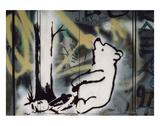 Pooh bear-trap Prints by  Banksy
