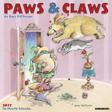 Gary Patterson's Paws n Claws - 2017 Calendar Calendari