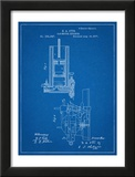 Combustion Engine Patent 1877 Poster