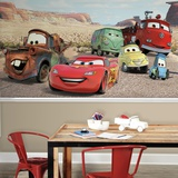 Disney Cars Desert XL Chair Rail Prepasted Mural Wallpaper Mural