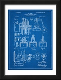 Diesel Engine Patent Posters