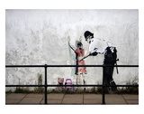 Stop and search Poster by  Banksy