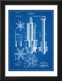 Drill Tool Patent Poster