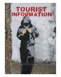 Tourist Information Posters af  Banksy